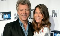 On Thursday, Jon Bon Jovi held his wife Dorothea tight as they made a rare red carpet appearance together at the Jon Bon Jovi Soul Foundation's 10 year anniversary.
