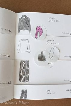 Uniqlo, Capsule Wardrobe, Diy And Crafts, Winter Fashion, Doodles, Bullet Journal, Handmade, Design, Style