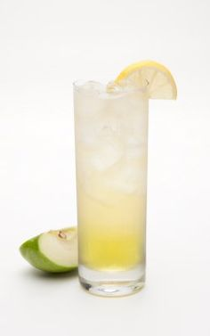 Irish Apple Sour - 1 part Jameson Irish Whiskey; 1 1/2 parts Hiram Walker Sour Apple Schnapps; 5 parts Ginger Ale; Combine over ice in a tall glass. Garnish with a lemon wedge.