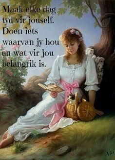 Maak tyd vir jouself... #Afrikaans #Rules2LiveBy #self