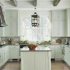 Traditionally Colored Kitchen