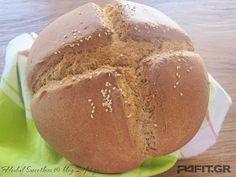 My Recipes, Bread Recipes, Recipies, Greek Bread, Greek Cooking, Vegan Bread, Baked Potato, Deserts, Food And Drink
