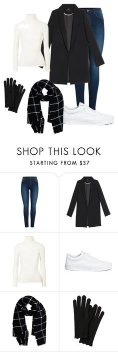 """""""Untitled #33"""" by evelinefeitosaneres on Polyvore featuring Pieces, JoosTricot, Vans and Warehouse"""