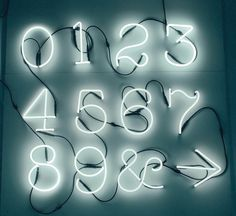 'Neon Font Neon Lamp by Seletti. @2Modern'