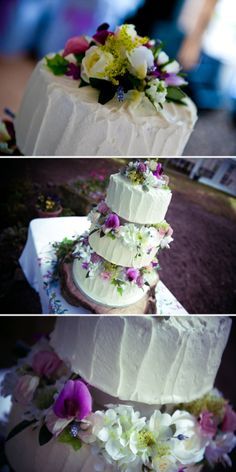 love the look of this while being simple for cake design. Plus it's yummy buttercream instead of fondant!