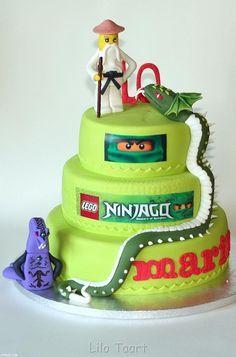 ninjago serpentine cake - Google Search