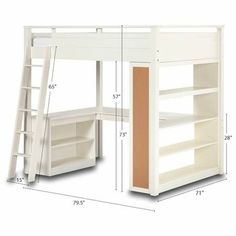 Pottery Barn Teen Loft Bed for any any one with kids