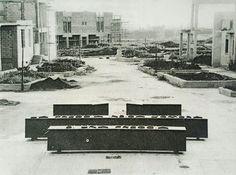 Gibellina, Emilio Isgrò, La freccia che indica l'ombra di una freccia - Museo Civico di Arte Contemporanea, Ufficio tecnico comunale, 1979