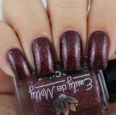 Emily de Molly Causing Friction swatched by Olivia Jade Nails