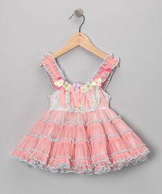 Light Pink Flower Doll Tutu Dress - Infant, Toddler & Girls $128.60 USD