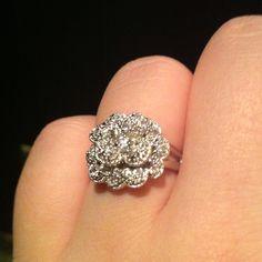 My Phi Mu Carnation Ring