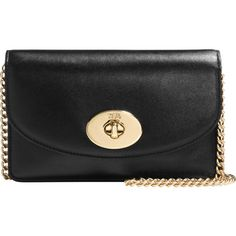 Coach Clutch Chain Bag (290 AUD) ❤ liked on Polyvore