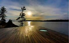 Deck and Lake