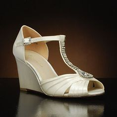 1b8ed3b1774 BRIANNA LEIGH ALLIE-428 Wedding Shoes and ALLIE-428 Dyeable Bridal Shoes  WHITE White