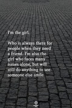 true quotes & true quotes & true quotes deep & true quotes for him & true quotes about friends & true quotes in hindi & true quotes funny & true quotes for him thoughts & true quotes for him truths Sad Girl Quotes, Motivacional Quotes, Real Quotes, Words Quotes, Life Quotes, Sayings, Alone But Happy Quotes, Be That Girl Quotes, Make Her Smile Quotes