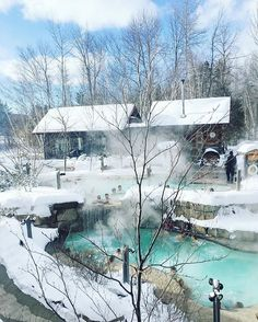 We had the most wonderful spa day yesterday at @scandinaveblue in a winter wonderland ❄️