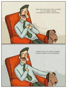 Si los perros ladran (por @albertomontt)