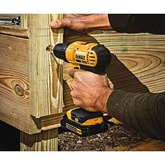 Model MAX Cordless Lithium-Ion in. Compact Drill Driver - Dewalt MAX Lithium-Ion Compact in. Cordless Drill Driver Kit Ah). Compact, lightweight design fits into tight areas. Cordless Power Drill, Cordless Drill Reviews, Best Chainsaw, Best Hand Tools, Precision Drilling, Cv Online, Dewalt Drill, Best Circular Saw, Speed Drills