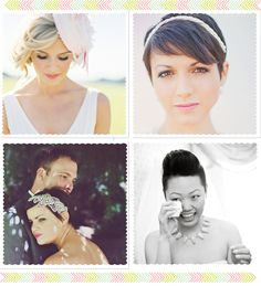 Novia con pelo corto / Bridal Short Hairstyle Wedding Events, Weddings, Short Hairstyle, Bride, Chocolate, My Style, Face, Vestidos, Bridal Headpieces