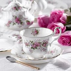 Royal Albert Teacup --- Most Grandmothers collected tea cups & tea sets. My husband's uncle travelled a great deal. He always brought back a tea cup for his wife. She ended up with quite a collection.