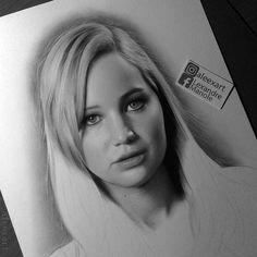 WANT A SHOUTOUT ?   CLICK LINK IN MY PROFILE !!!    Tag  #DRKYSELA   Repost from @aleexart   Commissioned work in progress!  Jennifer Lawrence  Hope u like it!  #art #artist #artwork #design #drawing #illustration #portrait #jenniferlawrence #pencil #paper #photooftheday #love #follow #followme via http://instagram.com/zbynekkysela