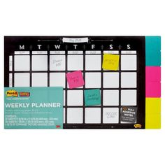 Post-it x Weekly Planner - 26 planner sheets plus 150 Full Stick Notes Classroom Setup, Future Classroom, School Classroom, Classroom Organization, Organizing, Erin Condren Life Planner, Weekly Planner, Planner Sheets