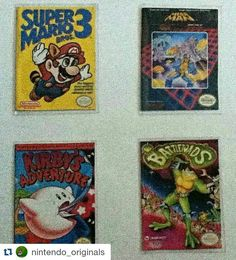 By retrosgaming: Some pretty cool custom NES game trading cards from @nintendo_originals  A Couple Of My Custom NES Cards Sorry For The Bad Quality  #custom #Nintendo #nes #retro #classic #8 #bit #Mario #3 #battletoads #Kirby #megaman #follow #followme #comment #like #collector  #collection #gaming #retrogaming #amiibo #amiibos #retrogaming #microhobbit