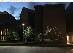 Hood Museum Courtyard, Series of live drawings created for the Dartmouth Biennial, Hanover, NH — June 2015 Anna, Dartmouth, Abstract Art, Museum, Neon Signs, Mansions, House Styles, Drawings, Artists
