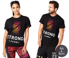11207ZSGT - STRONG BY ZUMBA GRAPHIC TEE - UNISEX