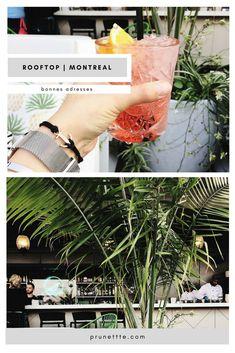 Adresses incontournables à Montréal pour l'été : les rooftops du Vieux-Montréal. #prunettteontheroad #montreal #bonnesadresses
