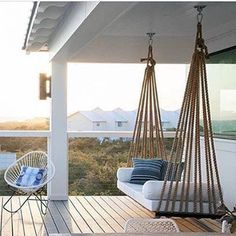 23 Free DIY Porch Swing Plans & Ideas to Chill in Your Front.- 23 Free DIY Porch Swing Plans & Ideas to Chill in Your Front Porch Fascinating porch swings lexington ky only in interioropedia design - Outdoor Spaces, Outdoor Living, Swing Design, Diy Porch, Balcony Design, Swinging Chair, Hammock Chair, Interior And Exterior, House Design
