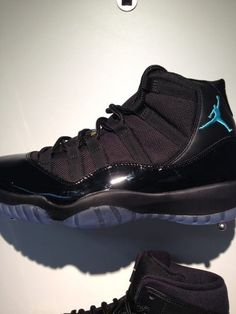 083b6f71858d Air Jordan 11 Retro - Black   Gamma Blue Holiday 2013 I LOVE THEM !