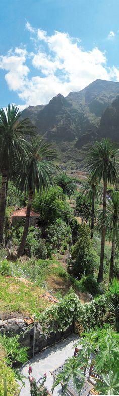 Panorama auf La Gomera im Valle Gran Rey    Amazon:  http://www.amazon.de/gp/product/B008YHFHFE/ref=noref?ie=UTF8=A3TIKERPIMFFE=1=generic