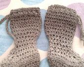 Custom Extra Long Baby Booties for Babywearing