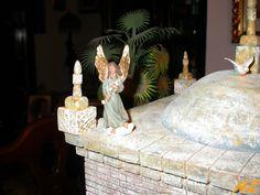 2016-12-22-4145-coolpix-1600& Nativity Stable, Coolpix, Miniatures, Ceiling Lights, Christmas, Diy, Crafts, Home Decor, Tutorials