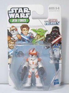 1 X Star Wars Jedi Force Commander Cody (Playskool Heroes) by Hasbro @ niftywarehouse.com #NiftyWarehouse #Geek #Products #StarWars #Movies #Film