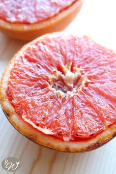 Broiled Grapefruit with Brown Sugar and Honey