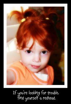 redhead.