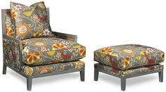This chair and ottoman by Temple Furniture proves that grey is the new neutral! TheHome.com #hpmkt