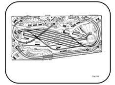Track Layout Ideas for Your Model Train Model Railway Track Plans, Standard Gauge, Model Train Layouts, New Years Eve Party, Classic Toys, Model Trains, Diorama, Planer, How To Plan