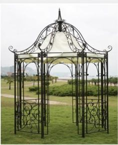 Wrought Iron Gazebos for Sale | ESM Marketing - Product Lines