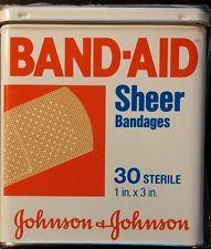 Band-Aid Tin,  vintage