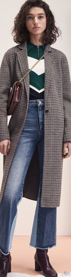 Fall 2017 RTW Sandro Best Street Outfits, Things I Need To Buy, Fall Looks, Sandro, Powerful Women, Well Dressed, Couture Fashion, Autumn Fashion, Female Power