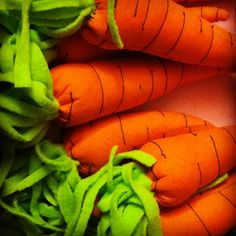 Toys for kids Handmade carrot
