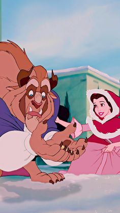 Disney's Beauty and the Beast and the beast Be a pirate or die Disney Pixar, Disney Animation, Walt Disney, Disney Amor, Disney And Dreamworks, Disney Cartoons, Disney Magic, Disney Movies, Animation Movies