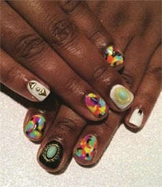 Lucky Charms: Nail Art with Style and Charm - NAILS Magazine