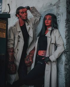 accessories for your DIY Hellboy halloween costume idea hellboy. accessories for your DIY Hellboy halloween costume idea hellboy. Diy Halloween, Cool Couple Halloween Costumes, Couples Halloween, Halloween Costume Contest, Diy Costumes, Group Halloween, Women Halloween, Halloween Makeup, Carnival