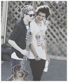 I'm a die hard Narry girl. They're like the best bromance ever
