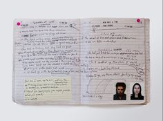 Nick Cave's notebook/journal. See more at Hingston.net.