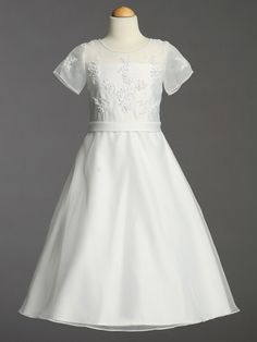 First Communion Dress for O
